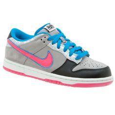 Nike 6.0 Dunk Low {blue, pink, grey, & black}