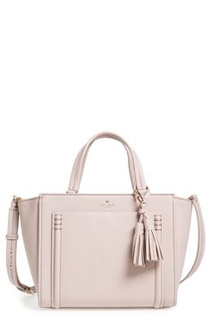 kate spade new york 'orchard street - dillon' tassel leather satchel available at #Nordstrom