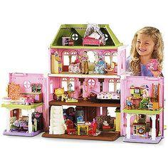 Fisher-Price Loving Family Grand Dollhouse with Bonus Pack   GOT IT FOR THE GIRLS!!