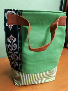 Tote bag with canvas n combination tenun ikat from Rote island indonesia. Ikat, Diaper Bag, Island, Tote Bag, Sewing, Canvas, Bags, Fashion, Tela