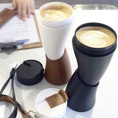 What is it about coffee that makes us more productive? With GOAT Mug it's definitely that you can carry it around so it keeps you awake during the whole day! ☕️