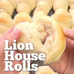 Lion House Rolls - Hands-Down My Very Favorite Homemade Roll Recipe Soft, Fluffy And Have A Nice Buttery Taste. Ideal For The Holidays Or Anytime You Want An Amazingly, Delicious Roll With Dinner Breakfast Casserole With Biscuits, Breakfast Bake, Breakfast Ideas, Breakfast Potatoes, Lion House Rolls, Bbq Chicken Pizza, Homemade Rolls, Homemade Crescent Rolls, Homemade Breadsticks