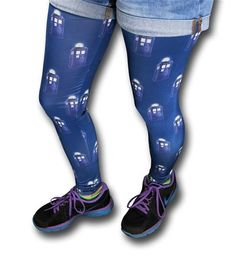 The 100% polyester Dr. Who 3D Tardis Leggings should have been called the Time And Relative Dimensions In Leggings but TARDIL doesn't quite have the same ring, does it? Oh well! Still, imagine relaxing on that big ol comfortable sofa of yours while wearing the soft Dr. Who 3D Tardis Leggings and marathon-ing through <i>every single episode of BBC's Doctor Who! </i>Nobody will ask any questions if you disappear for 12 days and then show up while in the Dr. Who 3D Tardis Leggings. They'll ...