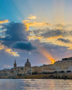 Can't get enough if this view! #Valletta!  Good Evening everyone!  Reminder to enter our #Giveaway and win one of the three #gifts with @maltasouvenirs .. Check out Monday's post for more #information!  Featured Photographer: @micagius  Tag your #photos with #MaltaPhotography to get a chance to be #featured on @maltaphotography - www.mpify.com  #sun #thursday #capital #city #reflection #blue #sea #popular #love #picturesque #colours #island #Malta #Photography #instagramhub #photooftheday…