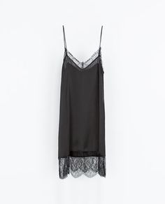 LINGERIE STYLE DRESS / Zara