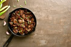 Slow Cooker Mongolian Beef Top Recipes, Asian Recipes, Crockpot Recipes, Dinner Recipes, Skillet Recipes, Chinese Recipes, Dinner Ideas, Healthy Recipes, Gourmet