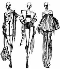 Fashion Portfolio Layout, Fashion Design Sketchbook, Fashion Design Drawings, Fashion Sketches, Fashion Drawing Tutorial, Fashion Figure Drawing, Manequin, Fashion Illustration Dresses, Fashion Illustrations