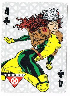 Four of Clubs - Rogue by stormantic, via Flickr