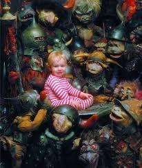"""Résultat de recherche d'images pour """"Labyrinth jim henson"""" David Bowie Labyrinth, Labyrinth 1986, Labyrinth Movie, Fantasy Films, Fantasy Art, Labyrinth Goblins, Jim Henson Labyrinth, Labrynth, Goblin King"""