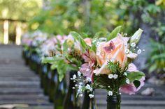 ambardeco Eventos Sociales Pink, Peach and green wedding! Casamiento en rosa, durazno y verde
