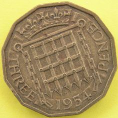 "Coin threepenny piece ""thruppenny bit"" by Leo Reynolds, via Flickr"