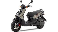 Yamaha-BW125 scooter.