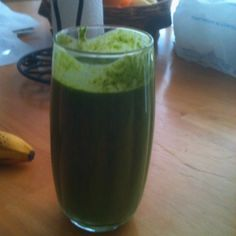 My tasty green healthy shake thing