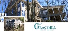 Gracehill, a Tennessee Bed and Breakfast - Imaginative and innovative Gracehill is a luxury, romantic accommodation. Without using a lot of adjectives we are hopeful the facilities will meet and hopefully exceed your expectations. #bedandbreakfast     #Gracehill