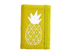 Yellow Pineapple Credit Card Holder Business Card Holder by olula