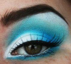 Blue lagoon #eyeshadow