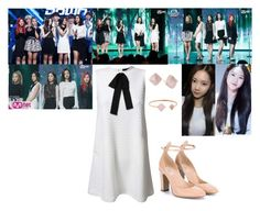 Red Velvet - One of These Nights Live by presley-malyk on Polyvore featuring polyvore fashion style TFNC Valentino Michael Kors clothing