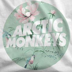 ARCTIC MONKEYS VINTAGE WALLPAPER LOGO T-SHIRT / RETRO / INDIE / AM / ALEX TURNER in Clothes, Shoes & Accessories, Women's Clothing, T-Shirts   eBay