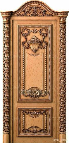 Lesser Seen Options for Custom Wood Interior Doors Internal Wooden Doors, Timber Door, Wooden Main Door Design, Custom Wood Doors, Frosted Glass Door, Classic Doors, Wood Carving Designs, Entrance Doors, Front Doors
