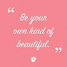 Proof that beauty comes in all shapes & sizes. xo #wordsofwisdom #benefitbeauty