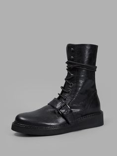 Ann Demeulemeester AD   Buckle Closure Boots FW15