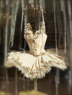 Zuzana's vintage ballet costume :-)