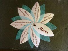 Lot de 30 Menus pour mariage, baptème, communion : Cuisine et service de table par delphine-kreations-originales