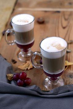 jesienna-kawa-z-musem-z-winogron-01-1024 Coffee, Tableware, Blog, Kaffee, Dinnerware, Tablewares, Cup Of Coffee, Blogging, Dishes