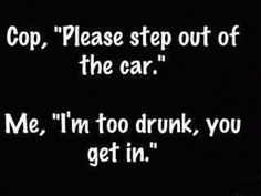 I'm too drunk...!!! Be safe driving this Mardi Gras everybody :)