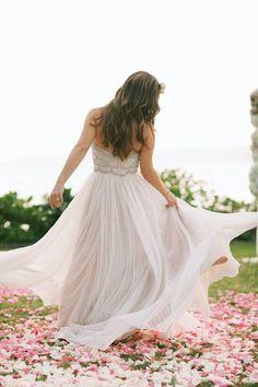 Dreamy Wedding Gown / Anna Kim Photography