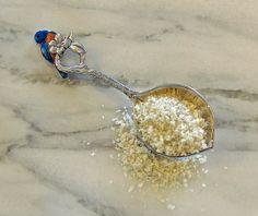 My most favorite French grey sea salt in Mezzaluna Marinara