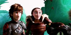 The way he looks at Astrid WOW