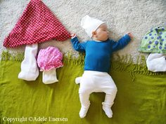 Oh my goodness so funny- and creative! make your baby a smurf for their pics! Ha