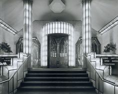 Art Deco Interiors old style Hollywood.