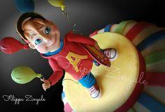 #sugarcake #cakedesigne #birthdaycake #topper #alvincake