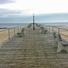 Bradley Beach - Bradley Beach, NJ, United States. 1 hr 30 min. Between Ocean Grove and Avon by the Sea. Small town w main street, one beach for surfing only, boardwalk links north to Asbury and south to Belmar.