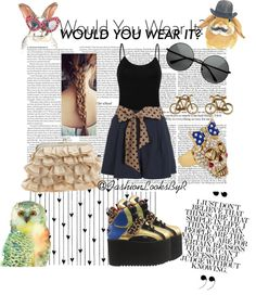 """""""Would You Wear It?"""" by fashionlooksbyr ❤ liked on Polyvore"""