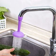 Taps & Fittings 360 Degree Water Saving Faucet Adjustable Material: Plastic  Size(L x B x H): 12 cm x 3 cm x 3 cm  Description: It Has 1 Piece Of Water Faucet Country of Origin: India Sizes Available: Free Size   Catalog Rating: ★4 (1411)  Catalog Name: Assorted Needy Water Faucets Vol 4 CatalogID_669507 C140-SC1692 Code: 771-4619247-