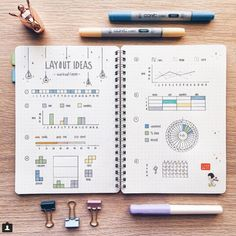 """819 Likes, 5 Comments - Journal Junkies (@journal_junkies) on Instagram: """"Oops! Missed this morning's post! Sorry team. . We're a bit rushed today, but how is this spread of…"""""""