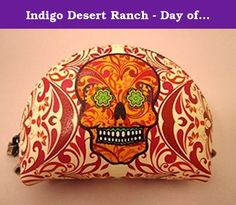Indigo Desert Ranch - Day of the Dead Coin Purse - Leather Catrina Flames. Day of the Dead (Spanish: Día de Muertos) is a Mexican holiday celebrated throughout Mexico, in particular the Central and South regions, and by people of Mexican ancestry living in other places, especially the United States. It is acknowledged internationally in many other cultures. The multi-day holiday focuses on gatherings of family and friends to pray for and remember friends and family members who have died…