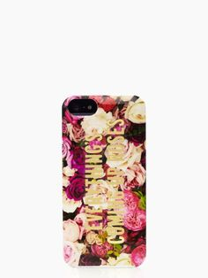 make this your summer mantra — the everything's coming up roses iphone 5 case by kate spade new york (july 2014)