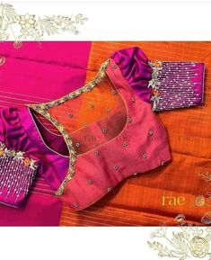 Brocade Blouse Designs, Netted Blouse Designs, Best Blouse Designs, Simple Blouse Designs, Stylish Blouse Design, Designer Blouse Patterns, Bridal Blouse Designs, Blouse Neck Designs, Dress Design Sketches