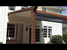 """Durasol Awnings """"The Gennius"""" - A Waterproof Retractable Awning - YouTube"""