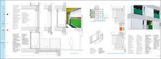 Construction details. COLL-LECLERC. Lleida. Spain  #housing #vivienda DENSITY SERIES Published in HoCo Density Housing Construction and Costs http://aplust.net/tienda/libros/Serie%20Densidad/HoCo%20%28Density%20Series%29/