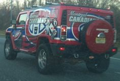 """thatswithakay: """"The biggest Montreal Canadiens fan in New Jersey… """" Montreal Canadiens, Us Hockey Team, Hockey Pictures, Diesel Trucks, New Jersey, Nhl, Dream Cars, Toothless, Sports"""