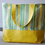 50 Tutorials for making reusable bags.  This one in particular is so well done!  Not sure I would want to whip up 10 of these, yep we use at least 10 bags every time we go to Trader Joe's.
