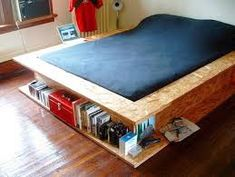 Diy space saving ideas for small bedrooms small bedroom storage ideas space saving beds with storage Bedroom Decor For Small Rooms, Small Bedroom Storage, Small Bedroom Designs, Bed Storage, Diy Bedroom Decor, Home Decor, Bedroom Furniture, Storage Ideas, Bedroom Ideas