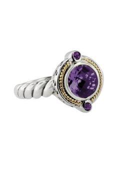 Effy Jewlery Balissima Calypso Amethyst Ring, 1.44 TCW Ring size 7 Effy Jewelry,http://www.amazon.com/dp/B009ZEBV2S/ref=cm_sw_r_pi_dp_yeDDrb78C62B4B9C