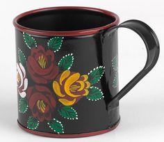 Narrowboat Hand Painted Mugs