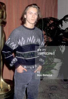 river actor | News Photo: Actor River Phoenix attends the 61st Annual Academy…
